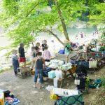 速報!東松山で河原バーベキュー&川遊び!